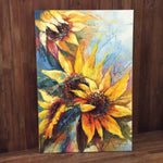 "Original Oil Painting ""Sunflowers"""