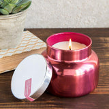 Capri Blue Pink Peppermint Candle