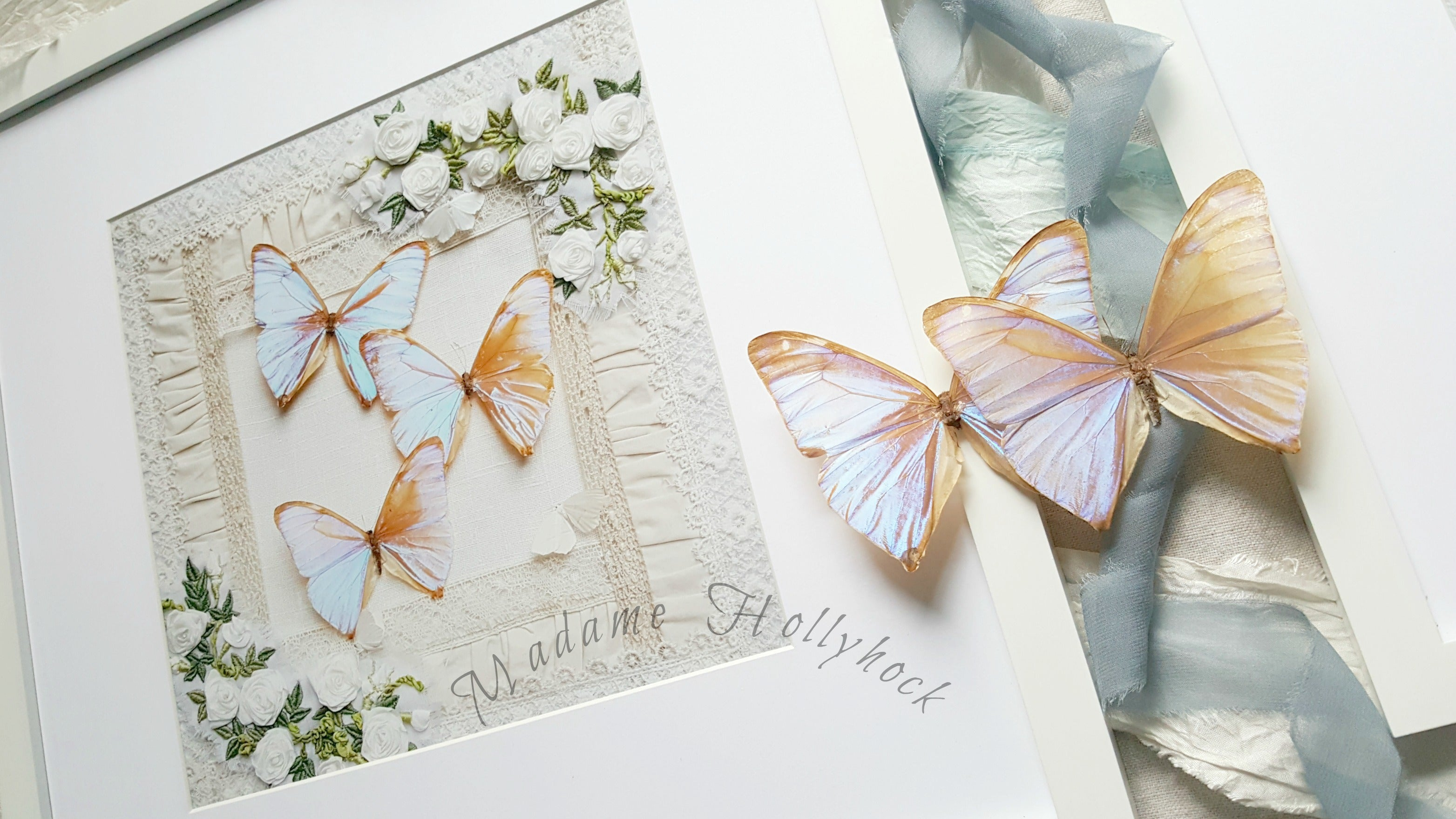 Butterfly Decor Trio