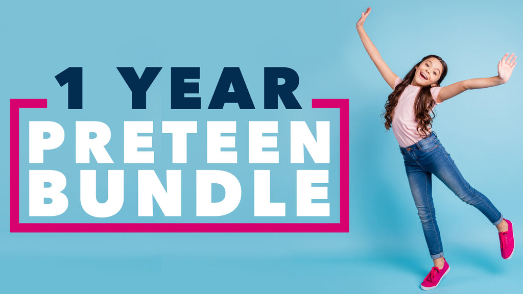 1 Year Preteen Bundle