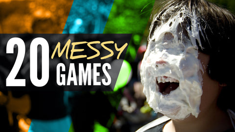 20 Messy Games