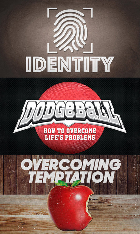 3 Series in 1 Bundle: Identity, Overcoming Temptation & Dodgeball (Download)