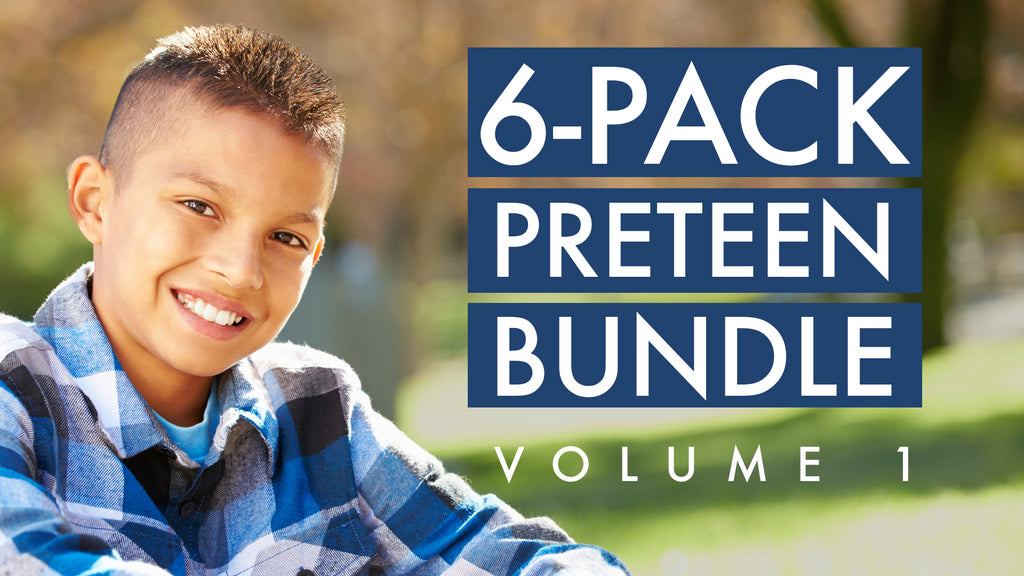 6-Pack Preteen Bundle, Volume 1