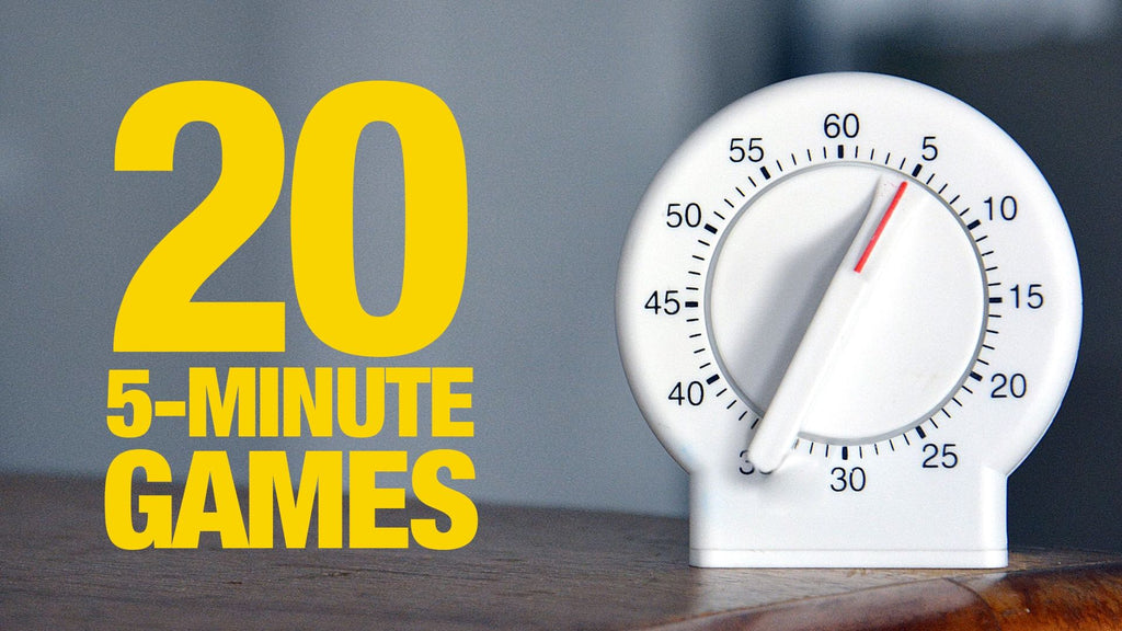 20 5-Minute Games