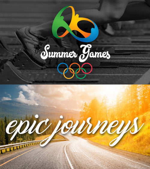 2 New Summer Series: Olympic Games & Epic Journeys (Download)