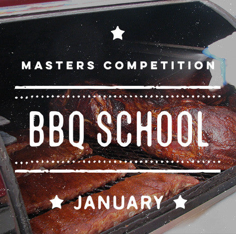 Cool Smoke Masters Competition BBQ School (January)