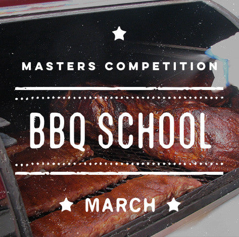 Cool Smoke Masters Competition BBQ School (March)