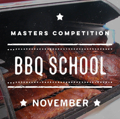 Cool Smoke Masters Competition BBQ School (November)