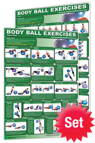 Body Ball Training Poster Pack