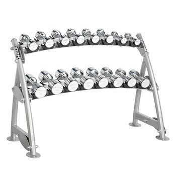 Dumbbell (Beauty Bell) Rack - Hoist CF-3462-2 Tiers