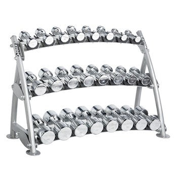 Dumbbell (Beauty Bell) Rack - Hoist CF-3462-3 Tiers