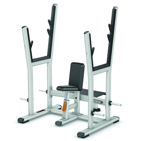 Precor Discovery™ Series Olympic Shoulder Press Bench