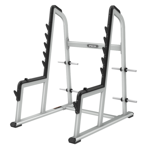 precor athlete fitness squat rack power system cage product spatrack