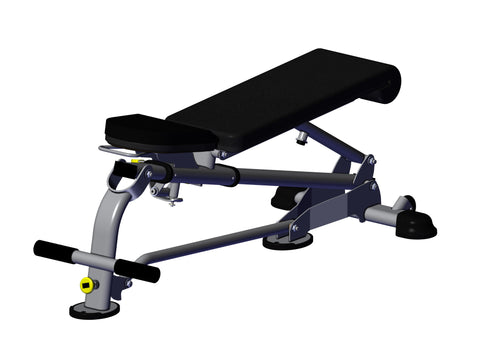 Hoist HF-5167 Fold-up Flat/Incline Bench