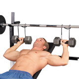 Body Solid PPH2 PowerHooks Dumbbell Spotters