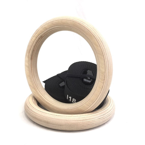RISE - Wooden Gym Rings