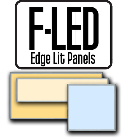 F-LED Edge Lit Panels