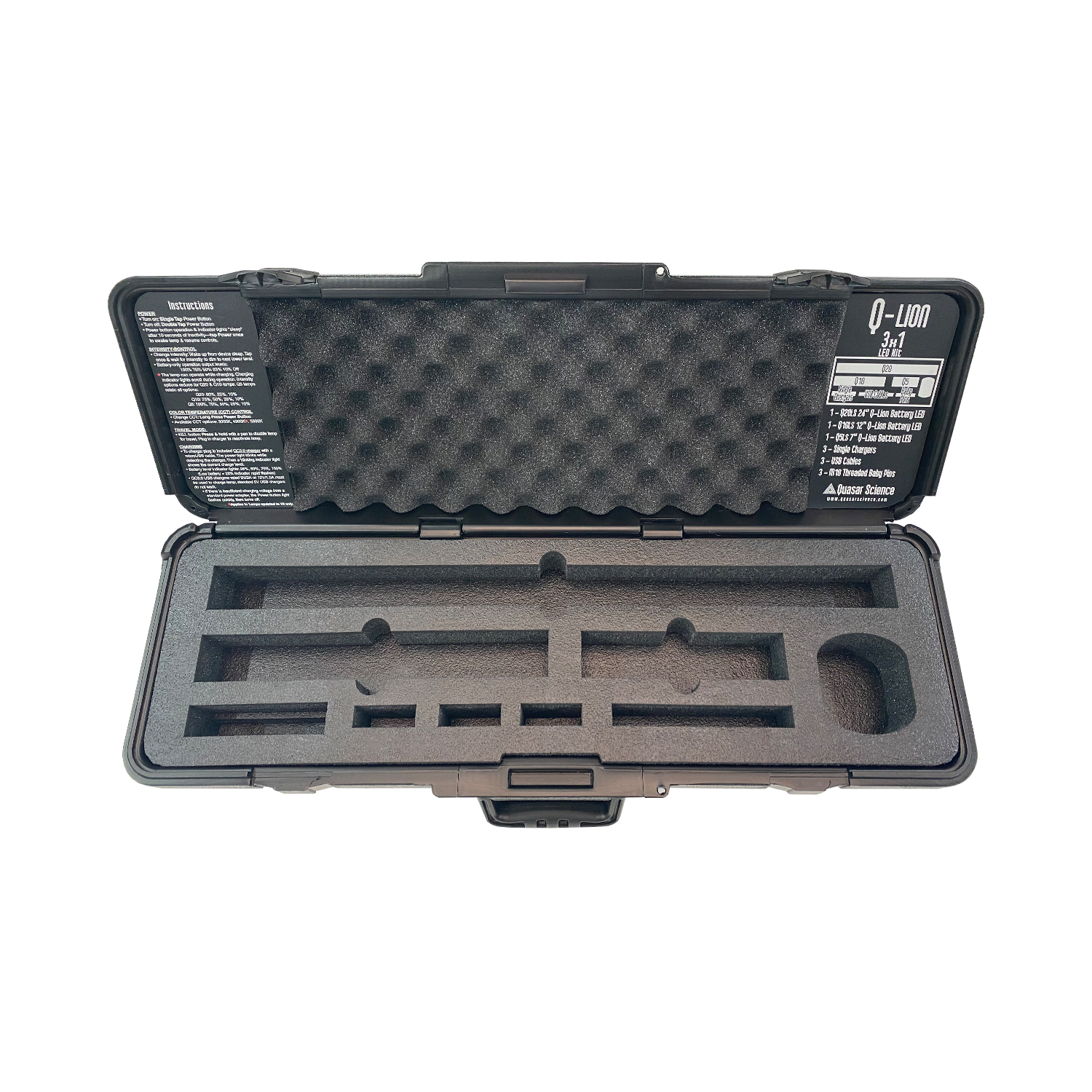 Q-Lion 3x1 Case and Foam [USED]