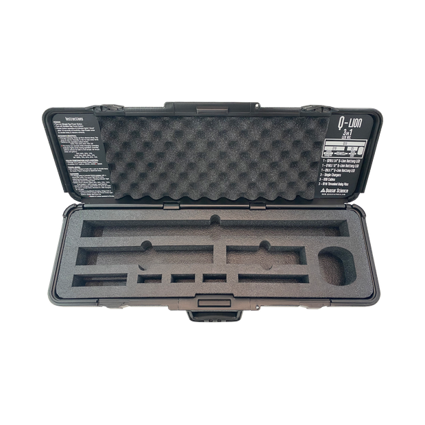 Q-Lion 3x1 Case & Foam