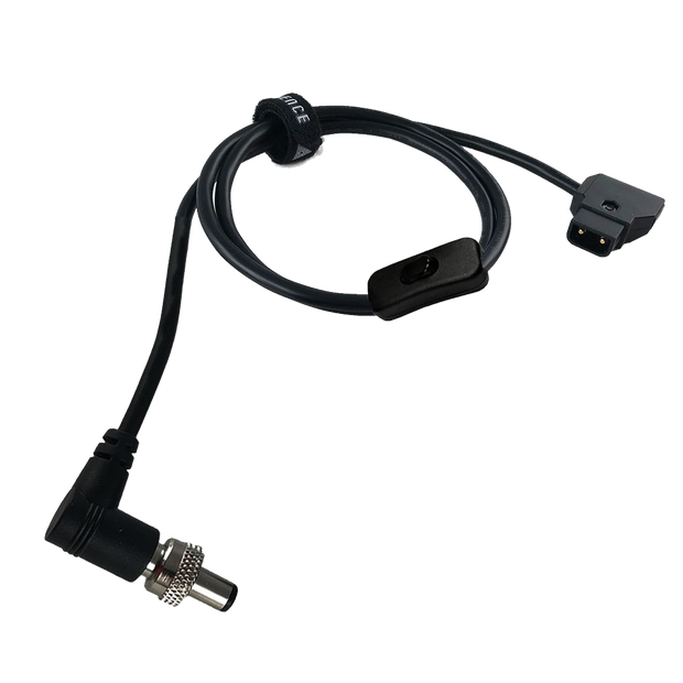 DC 2.1mm Male Right to PTap Cable