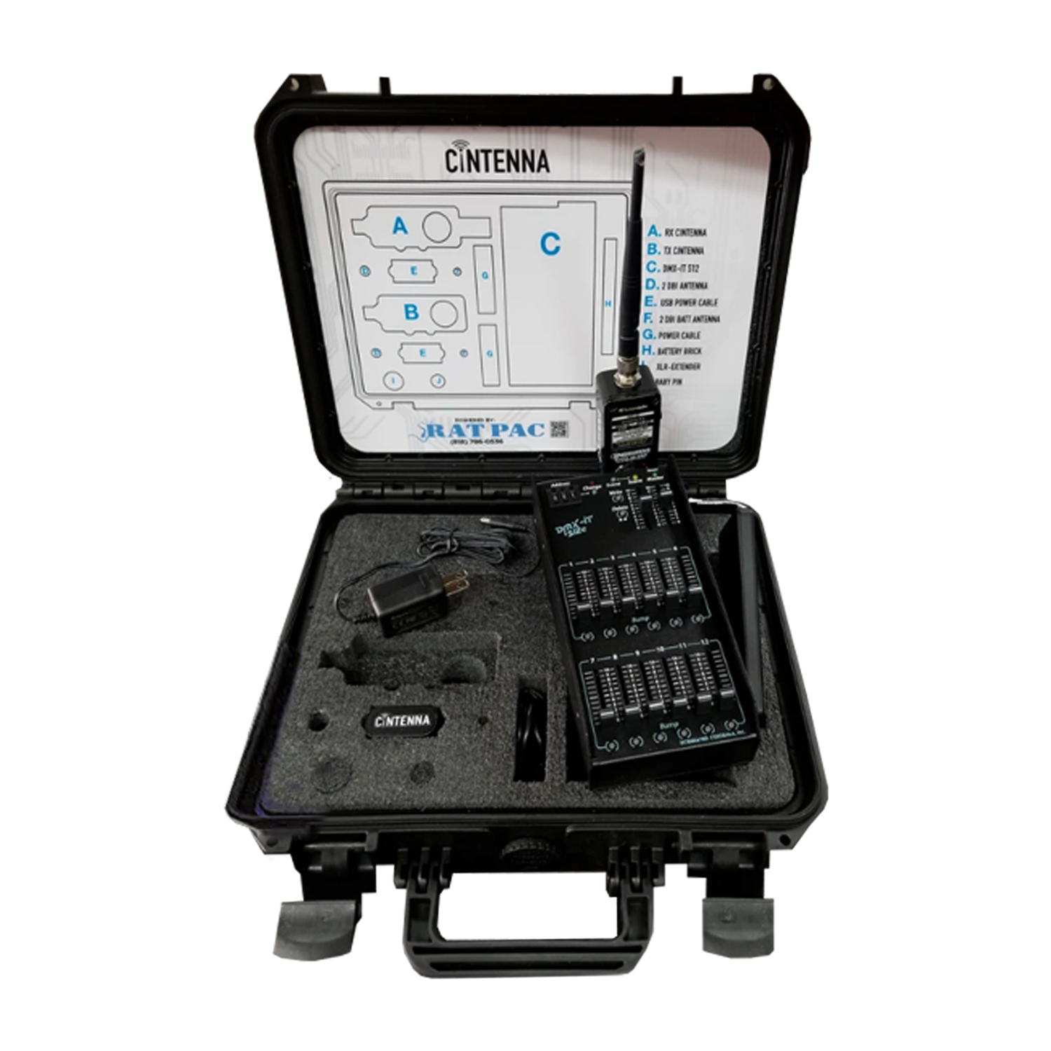 DMXit Kit with 1 Transmitter