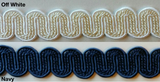 "3/4"" Braid Gimp - MADE IN USA - 12 Continuous Yards - Many Colors!"