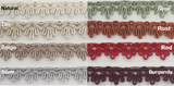 "5/8"" Scalloped Gimp Sewing Braid Trim - 18 Yards - Many Colors Available!"