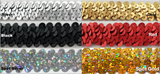 "3/4"" 2-ROW STRETCH SEQUINS TRIMMING- Many Colors Available - 18 Yards"