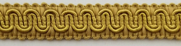 "1/2"" Scroll Braid Gimp w/ Backing - 12 Continuous Yards - Many Color Options!"