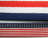 "1 1/4"" Patriotic Heavy Cotton Webbing - 5 Continuous Yards - MADE IN USA!"