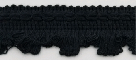 "3/4"" Chinese Braid Black"