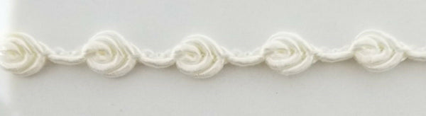 "1/4"" Rosebud Gimp Braid Trim - 30 Yards - Many Colors Available! MADE IN USA!"