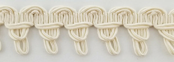 "7/8"" Designer Braid Gimp Trimming - 12 Continuous Yards - Color Options!"