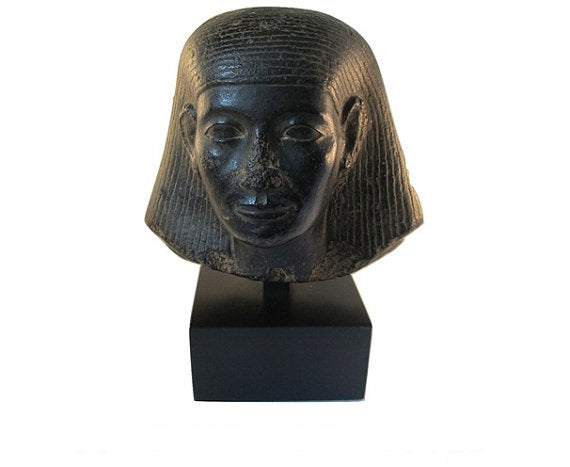 Museum Mount Replica XVIII Dynasty, Egyptian Head