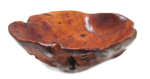 Maple Burl Bowl Organic Shape and Gorgeous Grain
