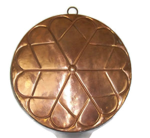 Wedding Cake Mold Copper Over Tin Wonderful Wall Decor