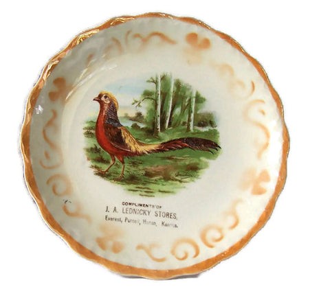 Advertising Plate by D.E. McNicol of Kansas