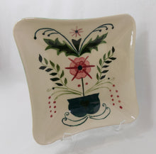 Creek-Turn 1950s Pottery Bowl Kleiner Original #232 Artist Signed Tilted Right
