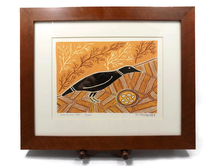 Aborigine L E Print With COA by Doris Gingingara, 1994