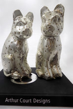 Rare Arthur Court Cat Statues-Hand Signed on book