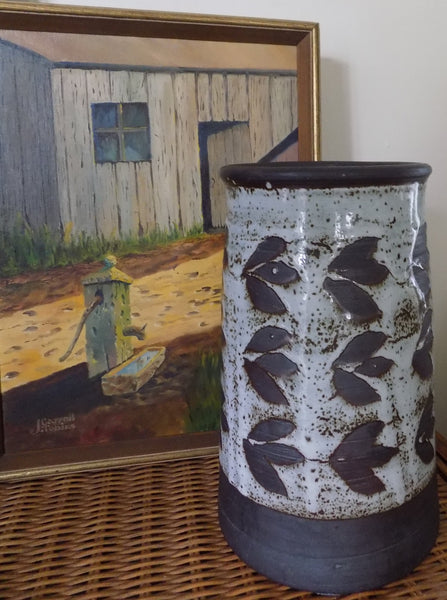 4580 Karl Sporck Pottery Vase full view-with painting-C-2206 x 2961.jpg