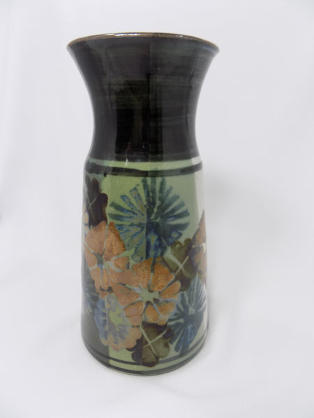 Apple Lane Pottery Vase by Bill Nagengast Michigan Potter lighter side 2