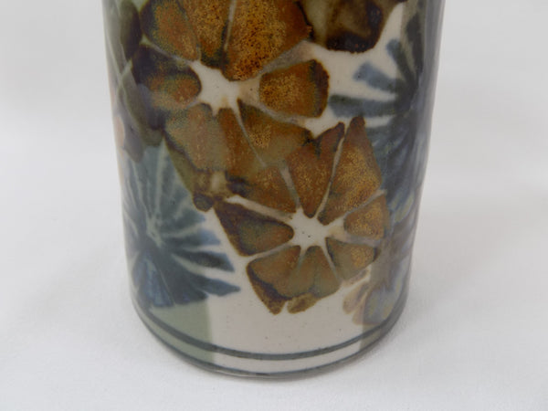 Apple Lane Pottery Vase by Bill Nagengast Michigan Potter lower half