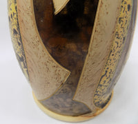 4709 Hand Made Pottery Jug with gold close up designs-3038 x 2736.jpg