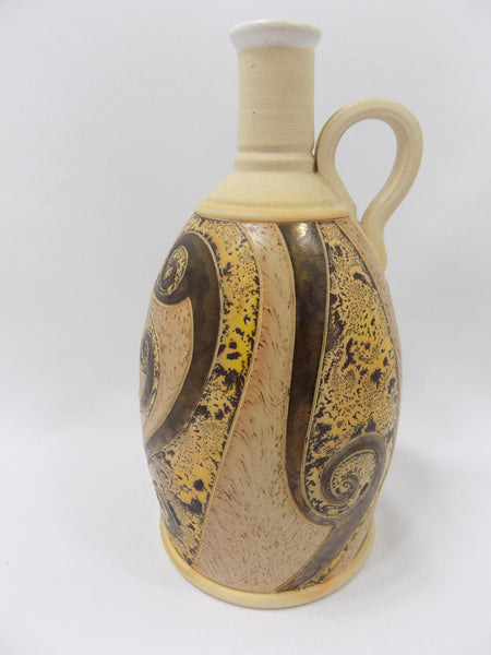 4709 Hand Made Pottery Jug with gold handle right-2736 x 3648.jpg