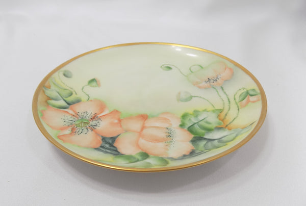 Hutschenreuther Porcelain Antique Bavarian Plate flat view