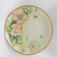 Hutschenreuther Porcelain Antique Bavarian Plate turned flowers on side