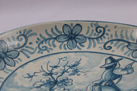 4815 Vintage Spanish Pottery Wall Plate by Cases - close up rim-3984 x 2656.jpg