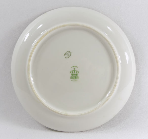4918 Antique Coronet Porcelain Plate -  Limoges France - Signed By Albers - full back of plate-2638 x 2476.jpg