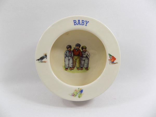 4923 Vintage 1930s Baby Dish - Czechoslovakia - full front view-2272 x 1704.jpg